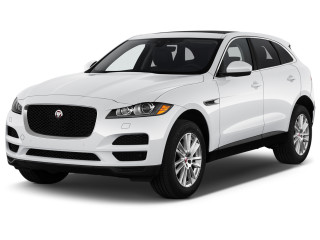 2020 Jaguar F-Pace 25t Prestige AWD Angular Front Exterior View