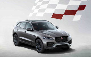 2020 Jaguar F-Pace Checkered Flag Edition
