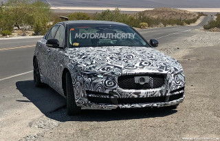 2020 Jaguar XE facelift spy shots - Image via S. Baldauf/SB-Medien