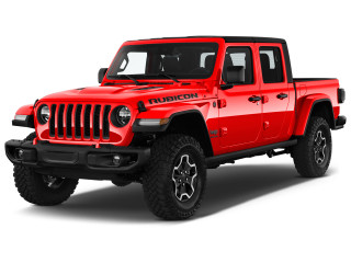 2020 Jeep Gladiator Rubicon 4x4 Angular Front Exterior View