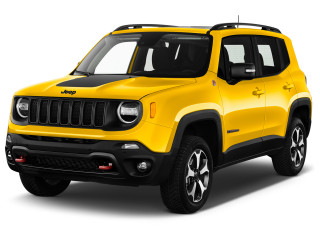 2020 Jeep Renegade Trailhawk 4x4 Angular Front Exterior View