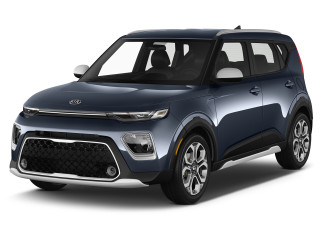 2020 Kia Soul X-Line IVT Angular Front Exterior View
