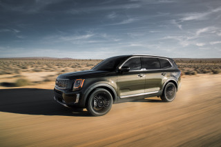 2020 Kia Telluride crossover SUV rated as high as 23 mpg combined