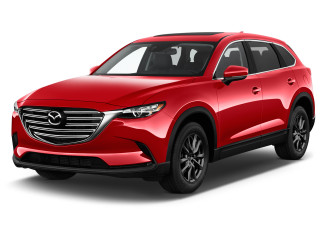2020 Mazda CX-9 Touring FWD Angular Front Exterior View