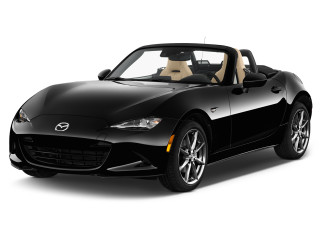 2020 Mazda MX-5 Miata Grand Touring Auto Angular Front Exterior View