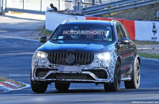 2020 Mercedes-AMG GLC63 spy shots