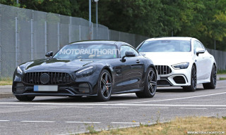 2020 Mercedes-AMG GT spy shots
