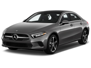 2020 Mercedes-Benz A Class A 220 Sedan Angular Front Exterior View