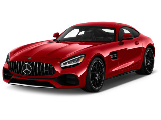 2020 Mercedes-Benz AMG GT AMG GT C Coupe Angular Front Exterior View