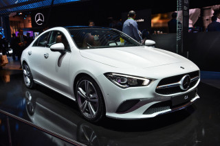 2020 Mercedes-Benz CLA Class, photo by Ronan Glon