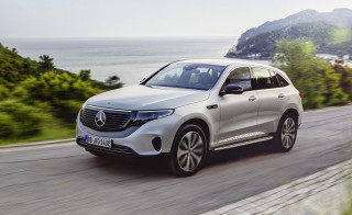 Mercedes-Benz EQC Edition 1886 electric SUV kicks off a new era