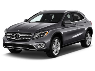 2020 Mercedes-Benz GLA Class GLA 250 4MATIC SUV Angular Front Exterior View