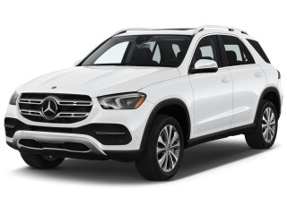 2020 Mercedes-Benz GLE Class GLE 350 4MATIC SUV Angular Front Exterior View