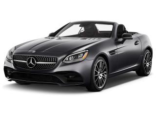 2020 Mercedes-Benz SLC Class SLC 300 Roadster Angular Front Exterior View