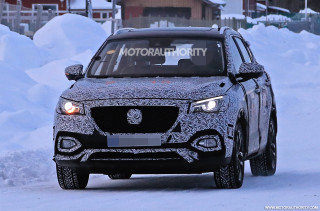 2020 MG X-Motion spy shots