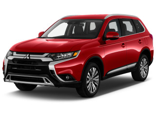 2020 Mitsubishi Outlander SEL FWD Angular Front Exterior View