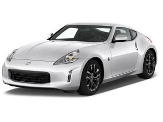 2020 Nissan 370Z Coupe Auto Angular Front Exterior View