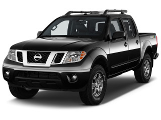 2020 Nissan Frontier Crew Cab 4x4 PRO-4X Auto Angular Front Exterior View