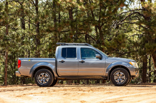 2020 Nissan Frontier mid-size pickup starts at $27,885 for new V-6, but old body