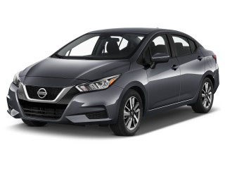 2020 Nissan Versa SV CVT Angular Front Exterior View