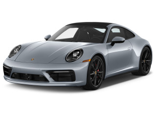 2020 Porsche 911 Carrera S Coupe Angular Front Exterior View