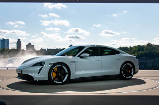 2020 Porsche Taycan live shots