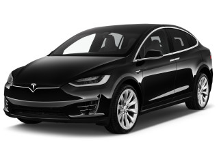 2020 Tesla Model X Long Range AWD *Ltd Avail* Angular Front Exterior View