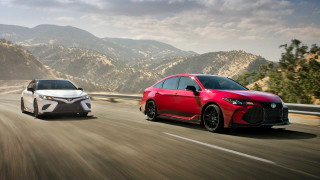 2020 Toyota Camry, Avalon receive TRD treatment