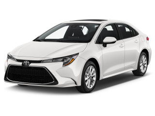 2020 Toyota Corolla XLE CVT (Natl) Angular Front Exterior View