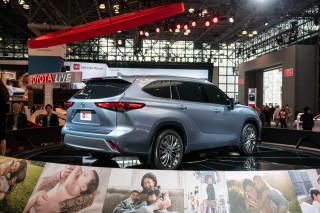 2020 Toyota Highlander, 2019 New York International Auto Show