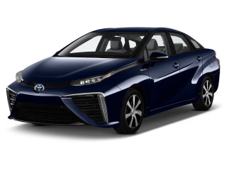 2020 Toyota Mirai Sedan Angular Front Exterior View