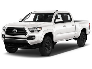 2020 Toyota Tacoma SR Double Cab 5' Bed I4 AT (Natl) Angular Front Exterior View