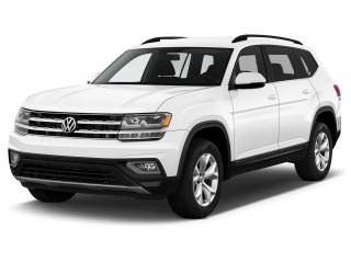 2020 Volkswagen Atlas 2.0T SE FWD Angular Front Exterior View
