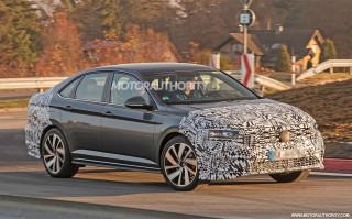 2020 Volkswagen Jetta GLI spy shots