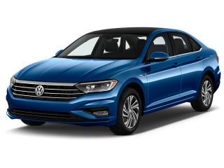2020 Volkswagen Jetta SEL Premium Auto w/ULEV Angular Front Exterior View