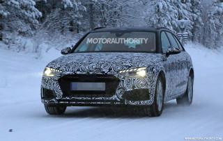 2021 Audi A4 Avant facelift spy shots - Image via S. Baldauf/SB-Medien