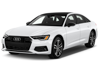 2021 Audi A6 Premium Plus 55 TFSI quattro Angular Front Exterior View