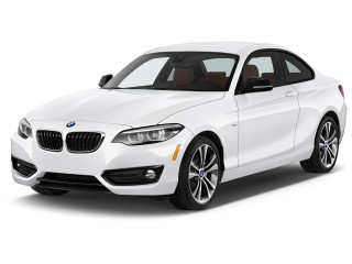 2021 BMW 2-Series 230i Coupe Angular Front Exterior View