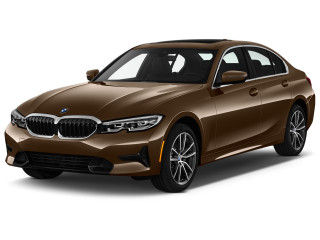 2021 BMW 3-Series 330e Plug-In Hybrid Angular Front Exterior View