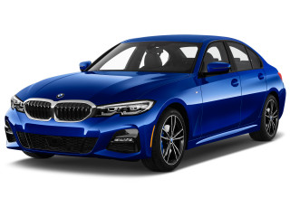 2021 BMW 3-Series 330e xDrive Plug-In Hybrid North America Angular Front Exterior View
