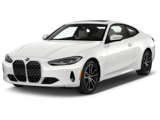 2021 BMW 4-Series 430i Coupe Angular Front Exterior View