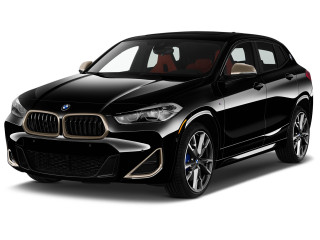 2021 BMW X2 M35i Sports Activity Vehicle Angular Front Exterior View