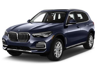 2021 BMW X5 xDrive40i Sports Activity Vehicle Angular Front Exterior View