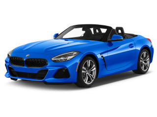 2021 BMW Z4 sDrive30i Roadster Angular Front Exterior View