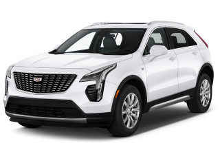2021 Cadillac XT4 AWD 4-door Premium Luxury Angular Front Exterior View