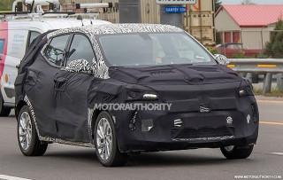 2021 Chevrolet Bolt EV-based crossover spy shots - Image via S. Baldauf/SB-Medien