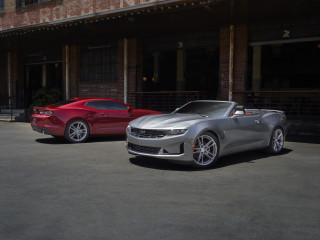 2021 Chevrolet Camaro LS and LT