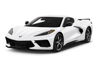 2021 Chevrolet Corvette 2-door Stingray Coupe w/3LT Angular Front Exterior View