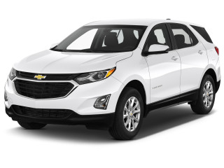 2021 Chevrolet Equinox AWD 4-door LT w/1LT Angular Front Exterior View