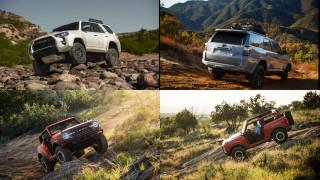 2021 Ford Bronco vs. 2021 Toyota 4Runner: Compare SUVs